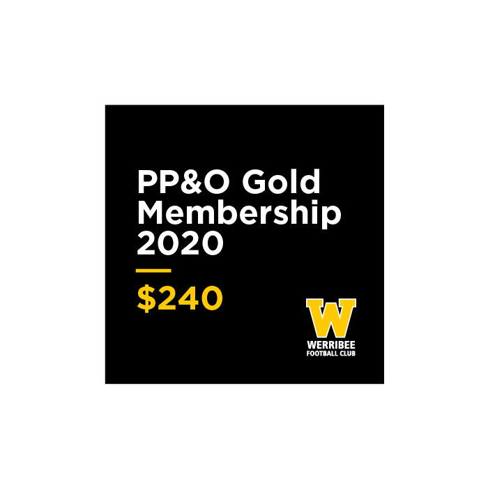 2020 Past Players & Officials Gold Membership